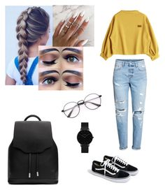 Lazy day  by morgan28xoxo on Polyvore featuring polyvore, fashion, style, H&M, J.Crew, rag & bone, CLUSE and clothing
