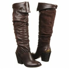 Lucky Brand Edina Boots (Tobacco Leather) - Women's Boots - 6.5 M