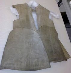 Ready to wear (1640s style): King Charles' Buffcoat? traditionally believed to have belonged to Charles I of England-1640s
