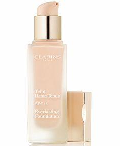 Clarins Everlasting Foundation SPF 15 - Foundation - Beauty - Macy's