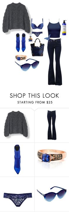 """COMFORT SWEATER"" by michelle858 ❤ liked on Polyvore featuring rag & bone, Stuart Weitzman, LE VIAN, Giorgio Armani and Nanette Lepore"