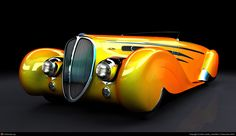 """Yellow is within colour trend this season, so nothing better than this Delahaye 165 to represent it on behalf of the """"automotive"""" world!"""