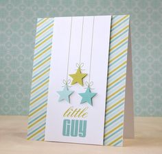 """little guy"" card made with digiscrap kit"