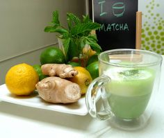 Almond Matcha Latte at Matcha Source