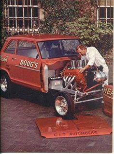 Vintage Drag Racing - Chevy II - Doug's Headers