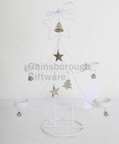Christmas Tree T Light Holder @ gainsboroughgiftware.com