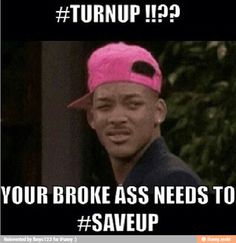 Turn up will smith meme