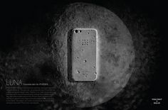 Luna a concrete iPhone case, that looks like the moon's surface, because why not? The Korean company has already sold out of the first run of the cases, but more are expected for sale soon.