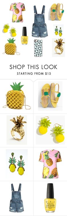 """pinapples!!!!!!!!!!!!!!!!!"" by livilou116134 on Polyvore featuring Talbots, Ann Taylor, J.Crew, Banana Republic, Dolce&Gabbana, OPI and Casetify"
