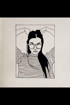 Image via We Heart It https://weheartit.com/entry/151024535/via/2659899 #art #drawing #girl #tumblr