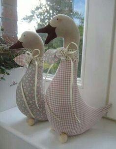 beautiful.quenalbertini: Fabric ducks