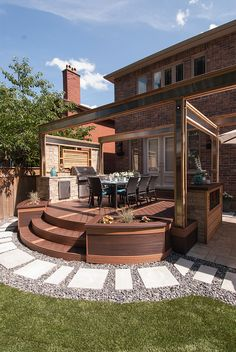HGTV's 'Decked Out': The BBQ Deck - Paul Lafrance Design