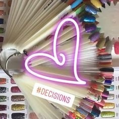 Decisiones 💅🏼 Neon Signs, Nails, Instagram, Finger Nails, Ongles, Nail, Manicures