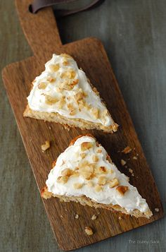 Give your family a sweet start to their day with these Banana Nut Scones that are topped with crunchy Diamond walnuts.