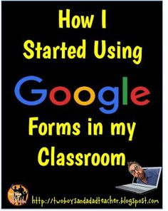 How I Use Google Forms in my Third Grade Classroom.  I just started integrating the use of Google Forms in my classroom.  Come read about it and find some useful tips.