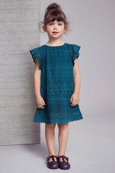 Next Teal Lace Dress (3mths-6yrs)