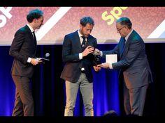 Sparta Rotterdams sportploeg van het jaar 2016 Michel Breuer ontvangt de onderscheiding Sparta Rotterdam