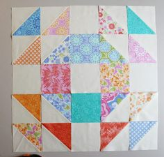 This classic pattern was made from a layer cake! Find out here how to use some of your pre-cuts