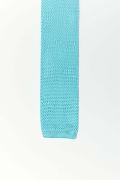 Square Knit Solid Square Knit Tie