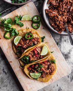 Jackfruit Carnitas Tacos (Vegan)
