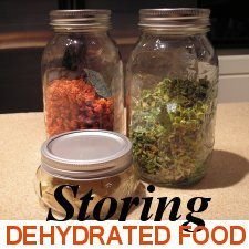 Learn HOW to STORE dehydrated food safely! www.easy-food-dehydrating.com
