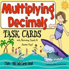 This multiplying decimals pack has a total of one hundred (100) task cards divided into three (3) sets. The problems have varying levels of difficu...