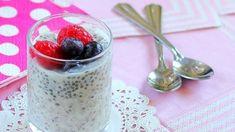 Descubre este maravilloso pudding de chía y frutos rojos