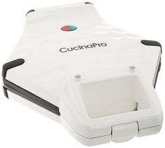 Bubble Waffle Maker by Cucina Pro - Nonstick Iron Creates Bubble Shaped Waffles (White) * You can find more details by visiting the image link.