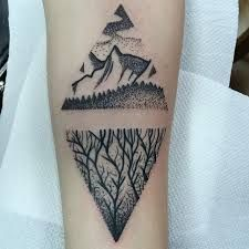 Image result for twin peaks tattoo                                                                                                                                                      More