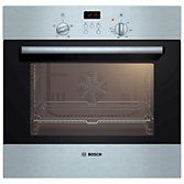 Buy Bosch HBN331E2B Single Electric Oven, Brushed Steel | John Lewis
