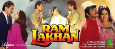 Ram Lakhan - Sharda vows vengeance when her husband is murdered by his two evil cousins, Bhishamber and Bhanu, and she and her two young sons are thrown out on the street. Those sons grow into the upstanding police officer Ram and the easily tempted dreamer Lakhan. If the family is to be avenged, Ram will have to lead his brother away from the path of corruption he's strayed onto, and protect him from the influence of Bhanu and Bhishamber.