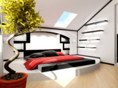 Penthouse bedroom part 0 by rOSTyk.deviantart.com