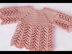Crochet Baby Pullover - Crochet Ideas Source by mrsbud sets Crochet Coat, Crochet Cardigan Pattern, Crochet Shirt, Love Crochet, Crochet Clutch, Baby Girl Crochet, Crochet Baby Clothes, Baby Patterns, Crochet Patterns