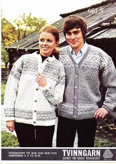 Setesdalskofte 681 S Vintage Knitting, Scandinavian, Knit Crochet, Men Sweater, Shirt Dress, My Love, Sweaters, Mens Tops, Knitting Ideas