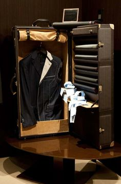♂ Masculine & Elegant suitcase for him