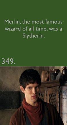 Merlin's Face! haha!