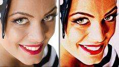 """Photoshop: Transform Photos into Retro, 1950s paintings with  """"Retro Pai..."""