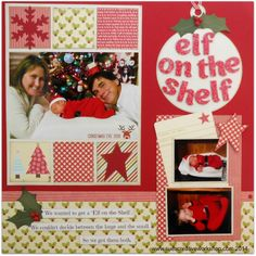 Elf on the Shelf - Scrapbook.com
