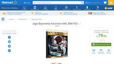 [Wal-Mart] Jogo Bayonetta Favoritos NAC BRA PS3 3290563 - de R$ 109,90 por R$ 79,90 (27% de desconto)
