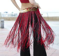 Tribal hip scarves