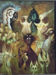 Leonora Carrington davidcharlesfoxexpressionism.com #surreal #surrealism…