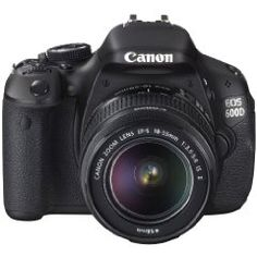 The Canon 600D. Nice!