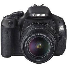 The Canon 600D. Nice!