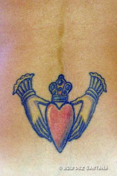 Irish Claddagh Tatoo