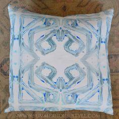 Lindsay Cowles Pillows at SummerHouse // http://www.alwayssummerblog.com