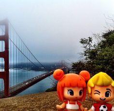 City of San Francisco in California Golden Gate, Four Square, San Francisco, California, City, Beautiful, Instagram, Cities