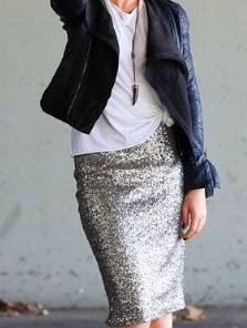 Sequin MIDI  skirt, pencil skirt, bridesmaid sequin skirt by HiddenRoom on Etsy https://www.etsy.com/listing/478991088/sequin-midi-skirt-pencil-skirt