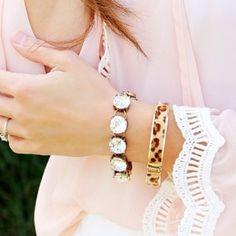J. Crew Crystal Link Bracelet New never worn j crew Crystal link bracelet J. Crew Jewelry Bracelets