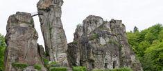 Duitsland | Wandelklassieker Hermannshöhen | oppad.nl Mount Rushmore, Mountains, Nature, Travel, Bielefeld, Naturaleza, Viajes, Destinations, Traveling