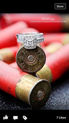 Shot gun shell ring picture @ Megan Walker
